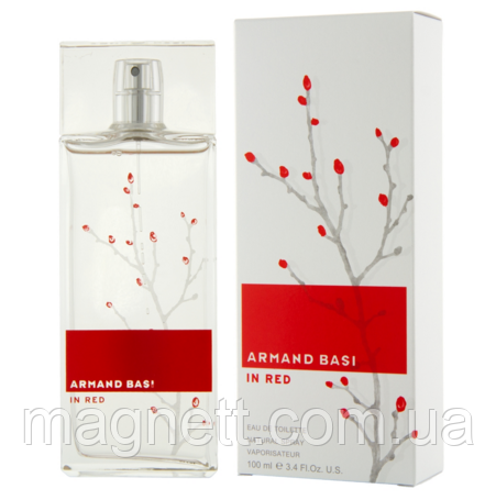 ARMAND BASI (Арманд Баси) IN RED EDT 100 ML
