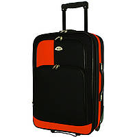 Чемодан сумка RGL 652 (небольшой) черно-оранжевый