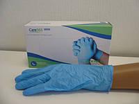 Перчатки нитриловые  CARE-365 смотровые нестерильные без пудры, размеры XS, S, M, L, XL 50 пар
