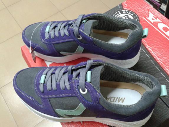 Модные женские кроссовки из натуральной замши МИДА 21688, фото 2