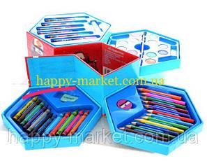 Набор для детского творчества Человек Паук (46 предметов) шестигранный, фото 2