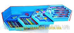 Набір для дитячої творчості Діти,дельфін (46 предметів) шестигранний, фото 3