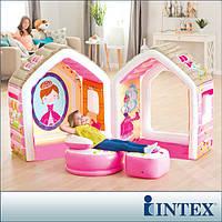 """Игровой центр домик """"Princess Play House"""" Intex 48635"""