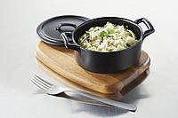 Блюдо круглое Revol серия Belle cuisine, черный цвет (15 см, 500 мл)