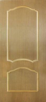 Дверное полотноКаролина глухое шпон натуральный