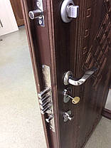 Модель 136 входные двери Саган Стандарт с замком Mottura (Моттура) 54.797, Николаев, фото 3