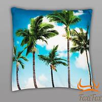 Оригинальная подушка Palm Trees