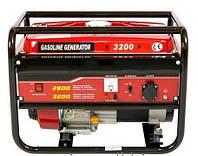 Бензиновый генератор Weima WM3200 3,2Квт, 1 ФАЗА, ручной старт