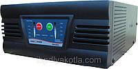 ИБП Logicpower LPM-PSW-500 (горизонтальный), для котла, чистая синусоида, внешняя АКБ, фото 1