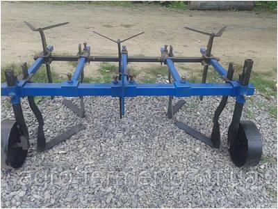 Культиватор міжрядної обробки для мотоблоків з колесами