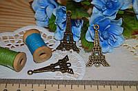 Металлический декор эйфелева башня Париж бронза