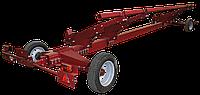 Тележка одноосная 4-х колесная ВТЖ для транспортировки жаток - 6 м