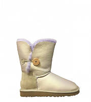Натуральные угги UGG Australia (Угги Оригинал) Bailey Button Metallic Amethyst. Model: 5803