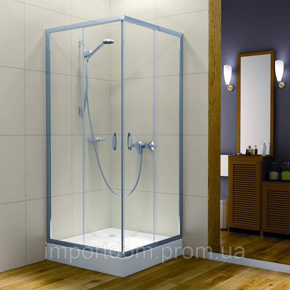 Душевая кабина Radaway Intense C 800 (800*800*1900) хром/прозрачное стекло