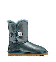 Натуральные угги UGG Australia (Угги Оригинал) Bailey Button I DO! Sea Green