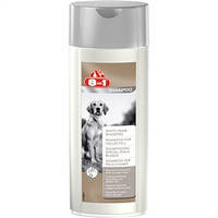 "8in1 (8в1) WHITE PEARL SHAMPOO - Шампунь ""Белая жемчужина"" для собак светлого окраса 250мл"