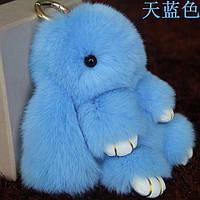 Брелок голубой кролик большой