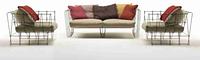 Кресло Single seater Sofa in MS  LSF-01. Ручная работа.