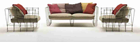 Диван Double seater Sofa  in MS LSF-02. Ручная работа.