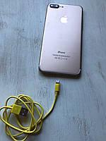 Зарядный кабель USB Charge Cable жёлтого цвета для iPhone, iPad Mini Air