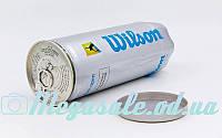 Мяч для большого тенниса Wilson Australian Open T1087: 3 мяча в вакуумной упаковке (реплика), фото 1