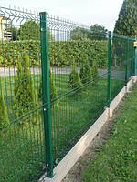 Забор секционный 1,5м х 2,5 м из сварной сетки с полимерным покрытием. Стандарт
