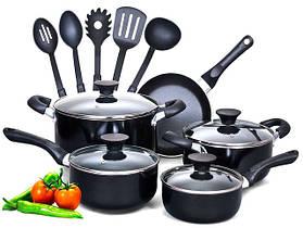 Кастрюли, сковороды, посуда