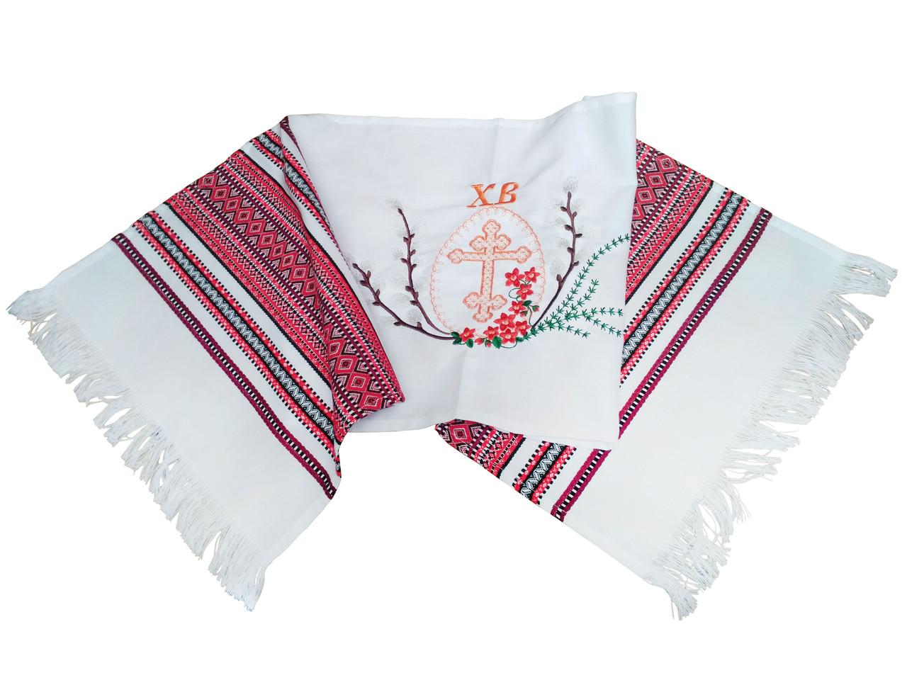 Пасхальный рушник с вышивкой 100/33 см