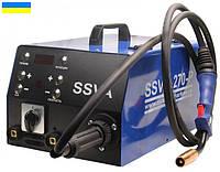 Полуавтомат-инвертор SSVA-270-P на 380 В  с 4-х роликовым венгерским подающим механизмом.