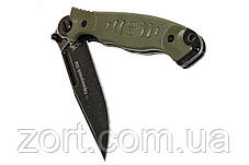 Нож складной, механический Офицерский-2, фото 3
