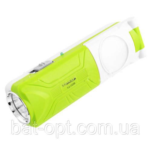 Фонарь лампа Luxury/Yajia 1039 1W+5SMD 15.5см
