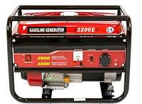 Бензиновый генератор WEIMA WM3200E, 3,2Квт, 1 фаза, Электростарт