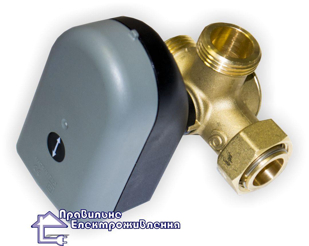 Трьохходовий змішуючий клапан із сервомотором SS2221 BNS, DN25 та  DN20
