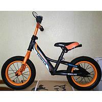 """Детский беговел (велобег) Azimut Balance NEW  Air 12""""оранжевый***"""
