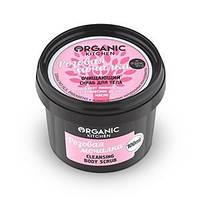 """Скраб очищающий для тела """"Розовая мочалка"""" 100 мл Organic Shop"""