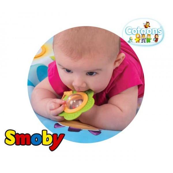Развивающий коврик Smoby Cotoons розовый 110212R, фото 3