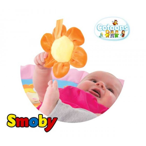 Развивающий коврик Smoby Cotoons розовый 110212R, фото 4