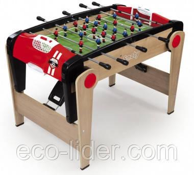 Дерев'яний напівпрофесійний футбольний стіл Millenium, складаний, 125х85х84см, 8+