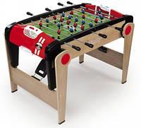 Деревянный полупрофессиональный футбольный стол Millenium, складной, 125х85х84см, 8+