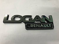 Renault Logan MCV Надпись на машину Logan by Renault 16см