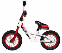 """Детский беговел (велобег) Azimut Balance NEW  Air 12"""" красный ***"""
