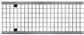 Решетка ячеистая, оцинкованная сталь, 0,5м. для каналов ACO V 200, Drainlock, D400