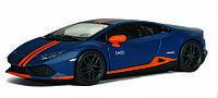 Машина металл Kinsmart Lamborghini Huracan LP610-4 Avio matte 1:38 (KT5401)