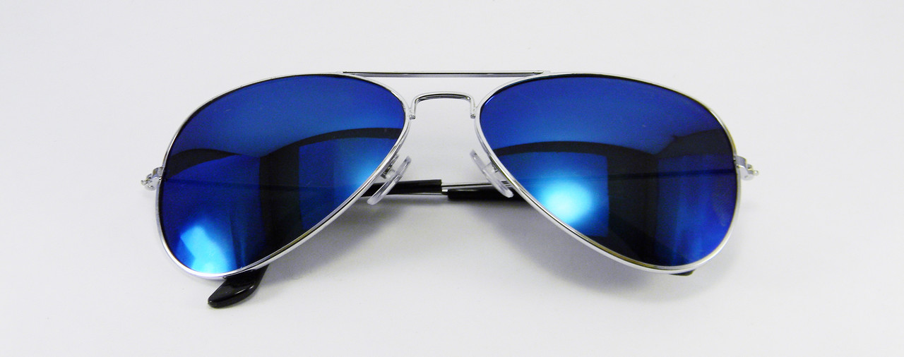 Очки капли авиаторы Aviator 3026 капля синие