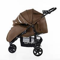 Детская Прогулочная коляска CARRELLO Enigma - легкая алюминиевая рама, корзина, подставка, с футкавером