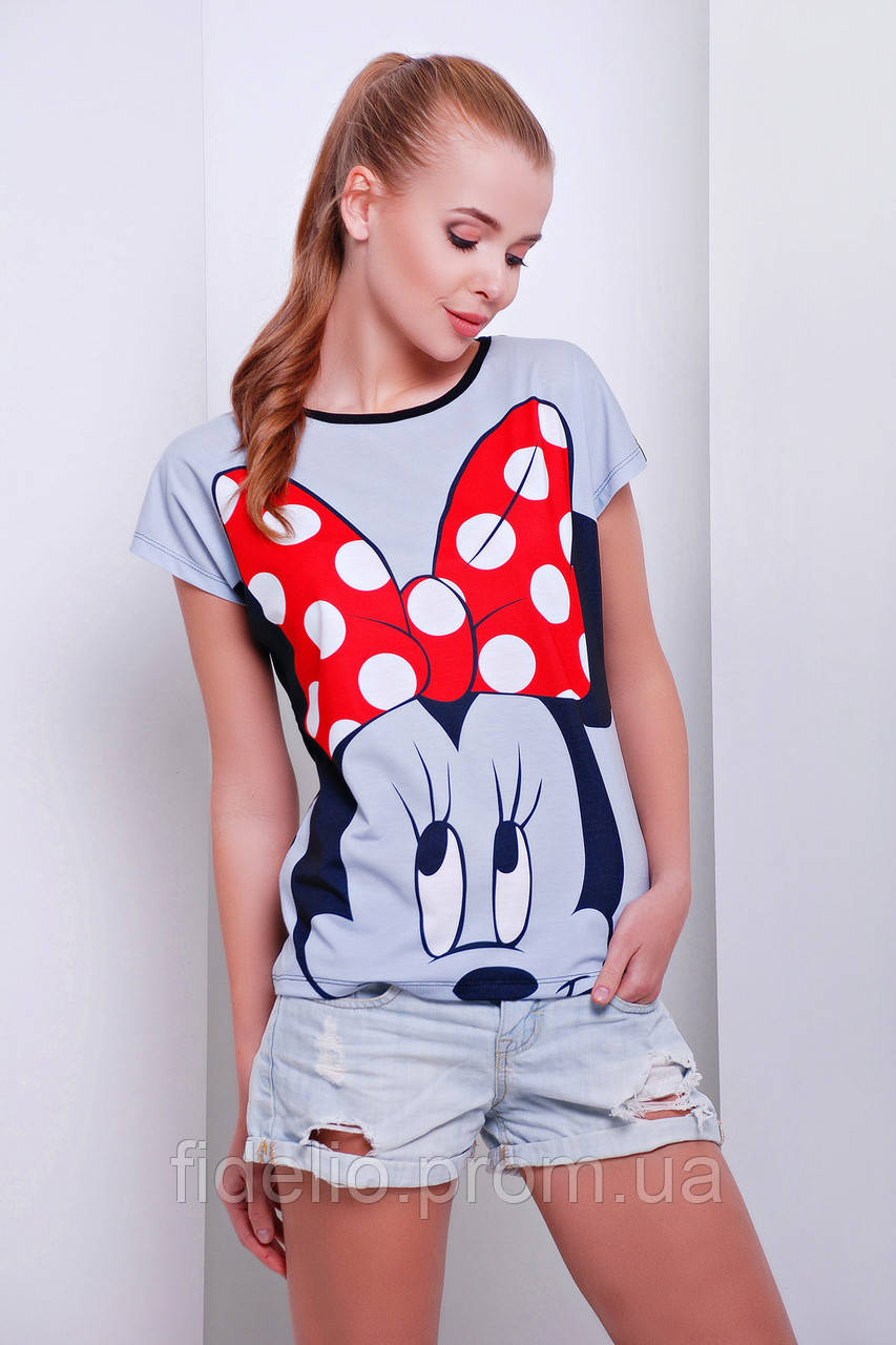 футболка GLEM Big Minnie футболка Кимоно-Б