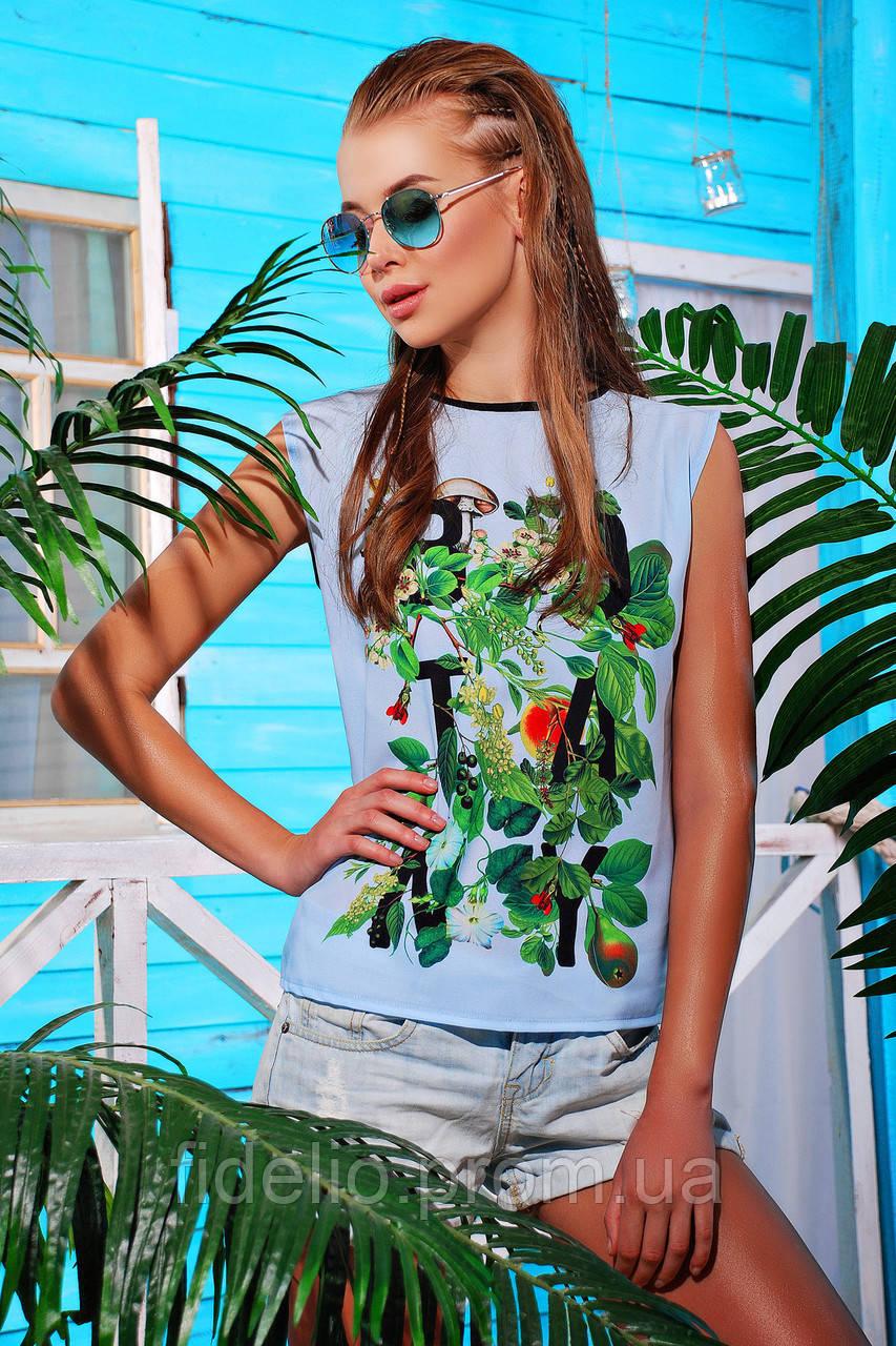 футболка GLEM Botanly футболка Киви-Б