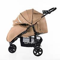 Детская Прогулочная коляска CARRELLO Enigma LIGHT  - легкая алюминиевая рама, корзина, подставка, с футкавером