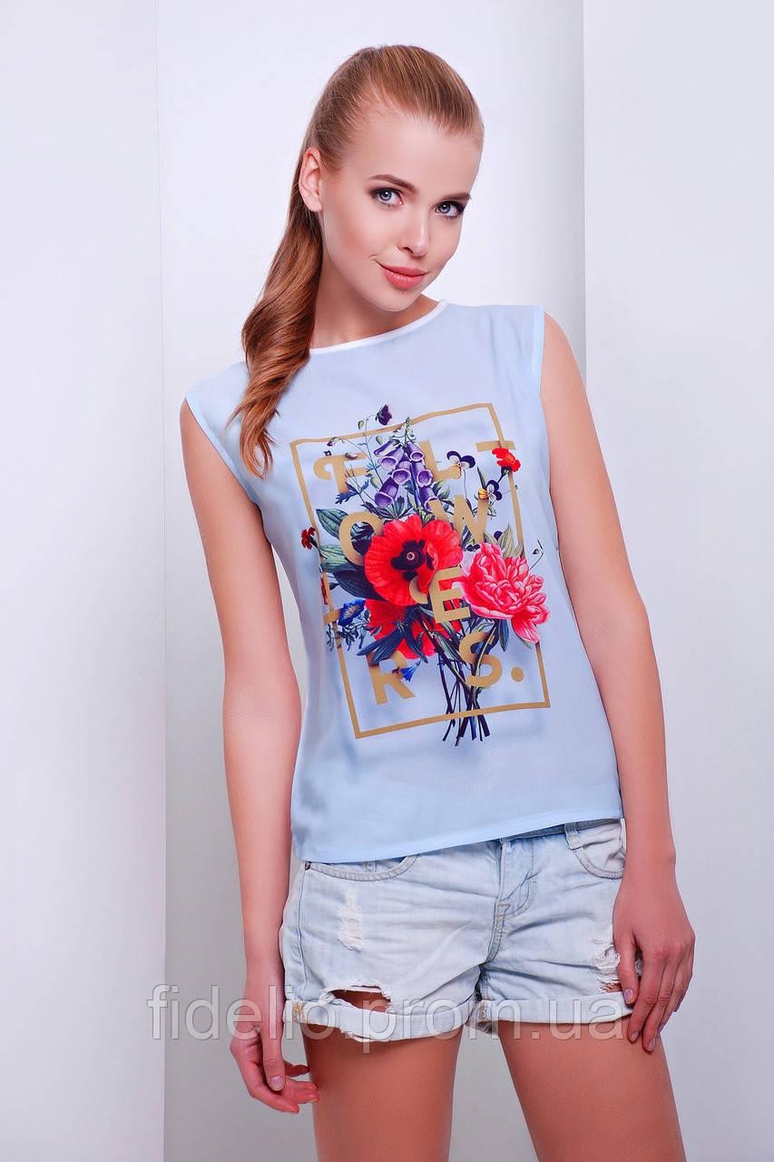 футболка GLEM Flowers футболка Киви-Б