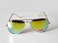 Очки капли авиаторы Aviator 3026 капля жетые